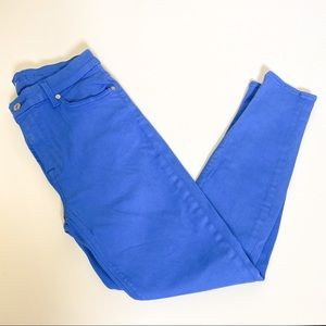 7seven for all mankind Blue Skinny Jeans size 29